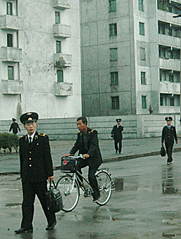 Final surreal view of Pyongyang  by Ron Gluckman in North Korea