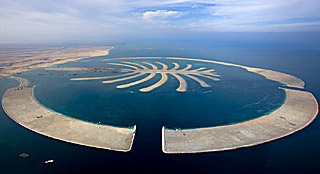 Artificial islands in dubai a world and universe of new real estate palm island in dubai aerial view gumiabroncs Gallery