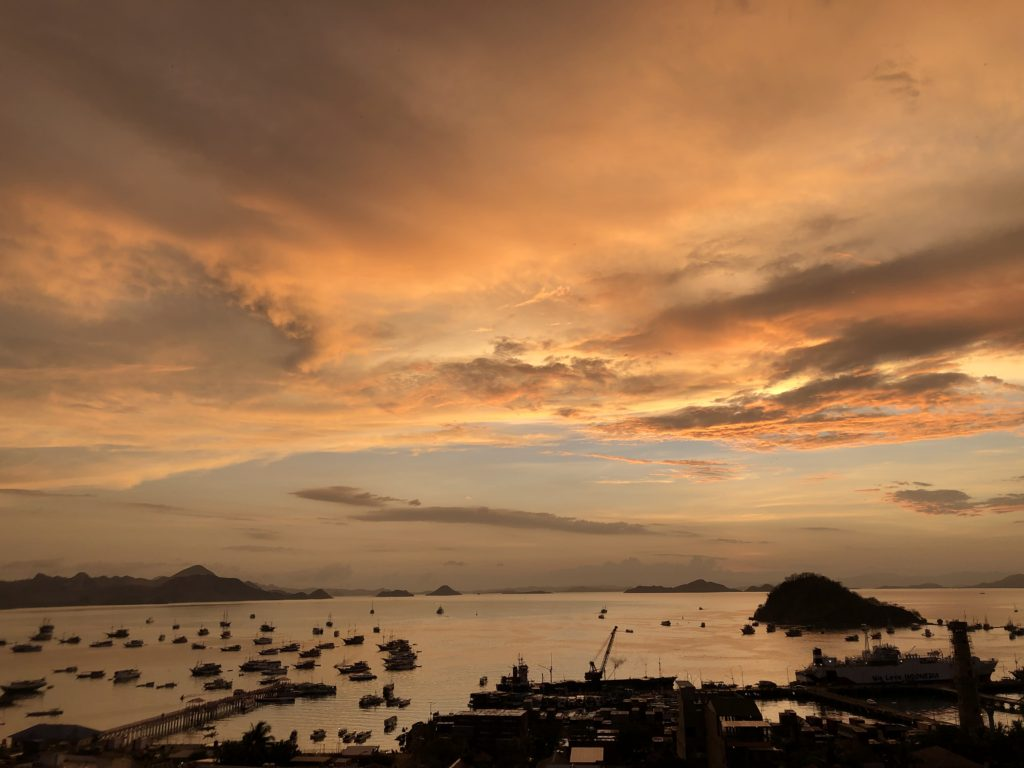 Sunset over Labuan Bajo 9396 by Ron Gluckman